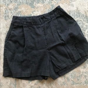 Beautiful black shorts size medium with pockets